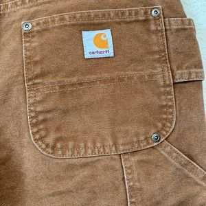 Carhartt Work Jeans Double Fabric Tool Pockets  8